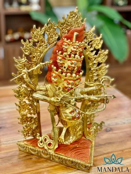Tôn tượng Hộ Pháp RaHuLa 35cm